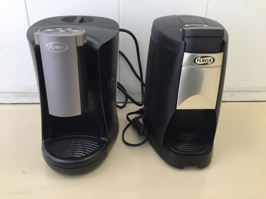 Pair Of Flavia Single Serve Coffee Makers Machines [Photo 1]