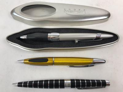 (3) Cross Ballpoint Pens Including Cross Morph Pen With Case