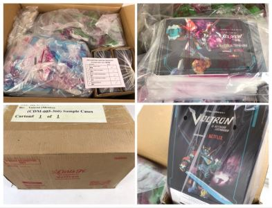 Box Loaded With Carl's Jr Voltron Mexico TV Show Promotional Happy Meal Toys - See Photos