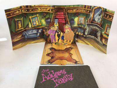 Vintage The Addams Family Movie Promotional Pop-Up