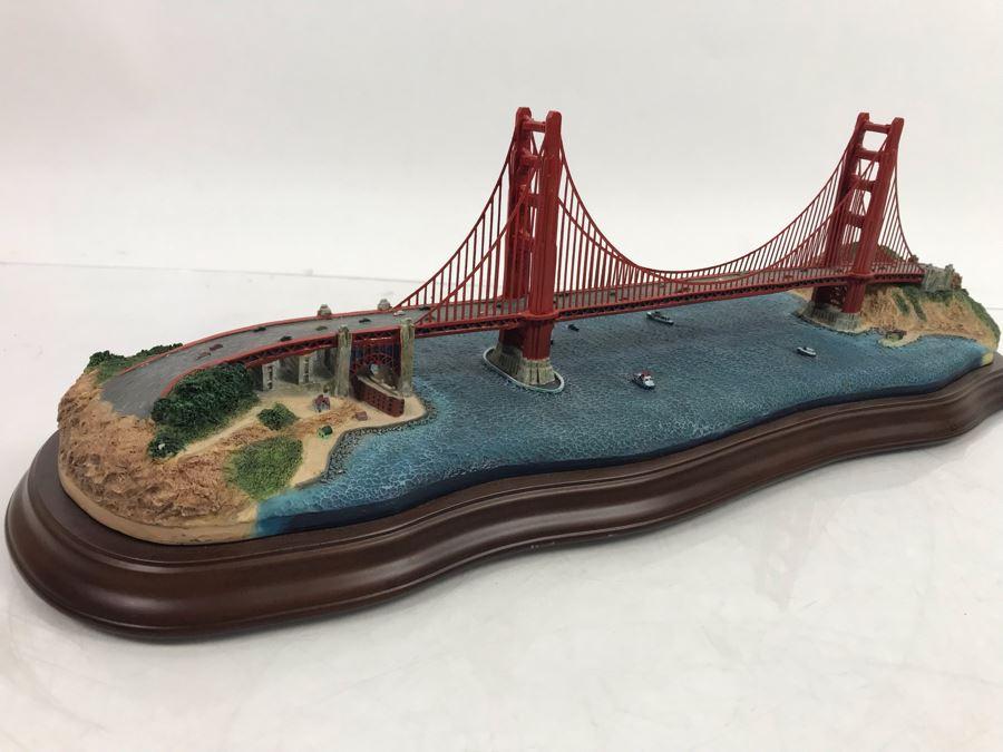 The Danbury Mint The Golden Gate Bridge San Francisco