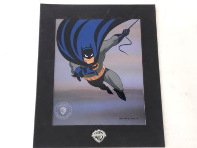 Vintage 1992 Special Edition Sericel DC Comics Warner Brothers Batman 11' X 13'