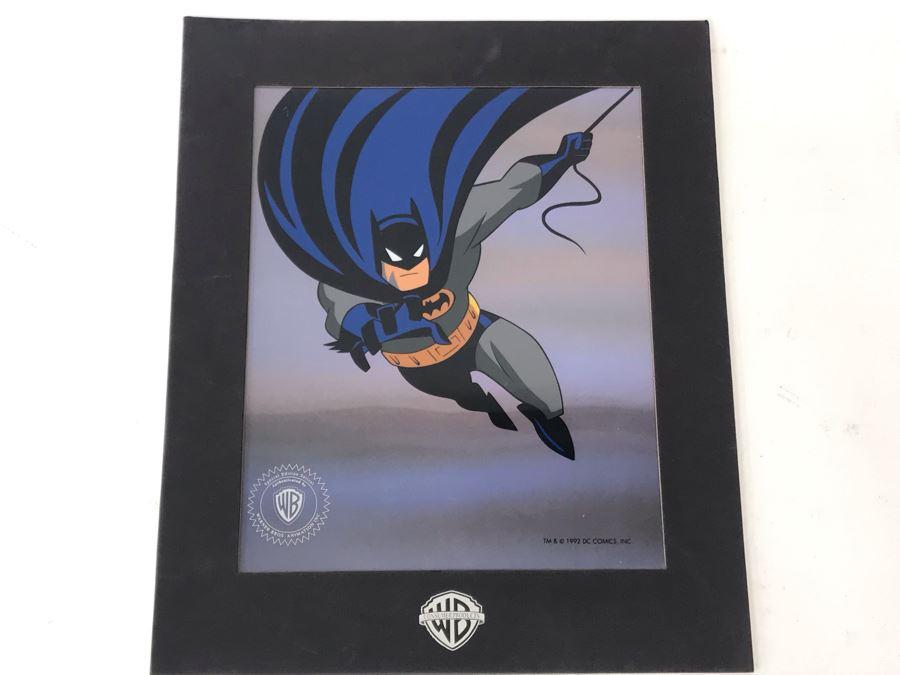 Vintage 1992 Special Edition Sericel DC Comics Warner Brothers Batman 11' X 13' [Photo 1]