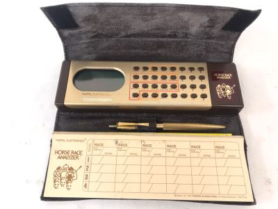 Vintage 1979 Mattel Electronics Horse Race Analyzer
