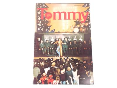 Vintage 1975 Tommy The Movie Program The Who Roger Daltrey As Tommy Elton John As The Pinball Wizard