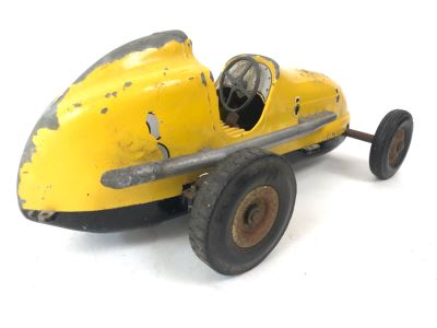Ohlsson & Rice Inc Los Angeles, Calif Yellow #3 Tether Car Without Engine