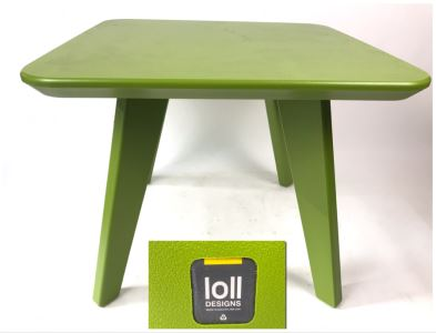 Loll Designs Green End Table Recycled Modern Furniture