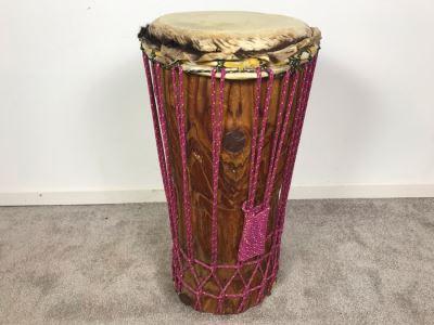 Handmade Bongo Drum 22'H X 12'W