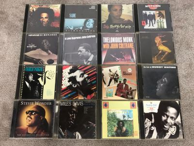 (16) Blues / Soul / Jazz Music CD Collection