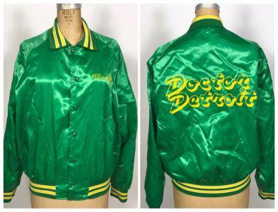 Vintage Doctor Detroit Movie Memorabilia Jacket Size M Dan Aykroyd