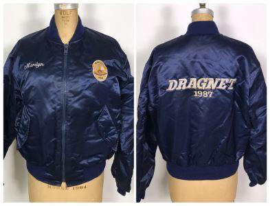 Vintage Dragnet 1987 Movie Memorabilia Jacket Size M Dan Aykroyd Tom Hanks