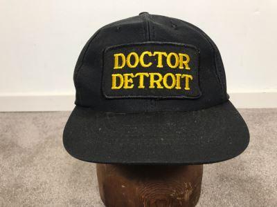 Vintage Doctor Detroit Movie Memorabilia Baseball Hat Dan Aykroyd