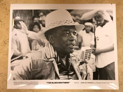 Vintage 1980 The Blues Brothers Movie Memorabilia 8 X 10 Photo John Lee Hooker