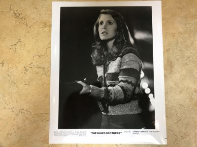 Vintage 1980 The Blues Brothers Movie Memorabilia 8 X 10 Photo Carrie Fisher