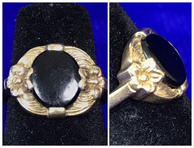 Vintage 10K Gold Ring 2.8g Size 6.5