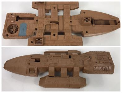Very Rare PROTOTYPE Mattel Battlestar Galactica BSG Command Ship Prototype Never Manufactured By Mattel - Deemed Too Expensive To Make - Provenance From Former Mattel Employee - 22'L X 10'W X 4'H