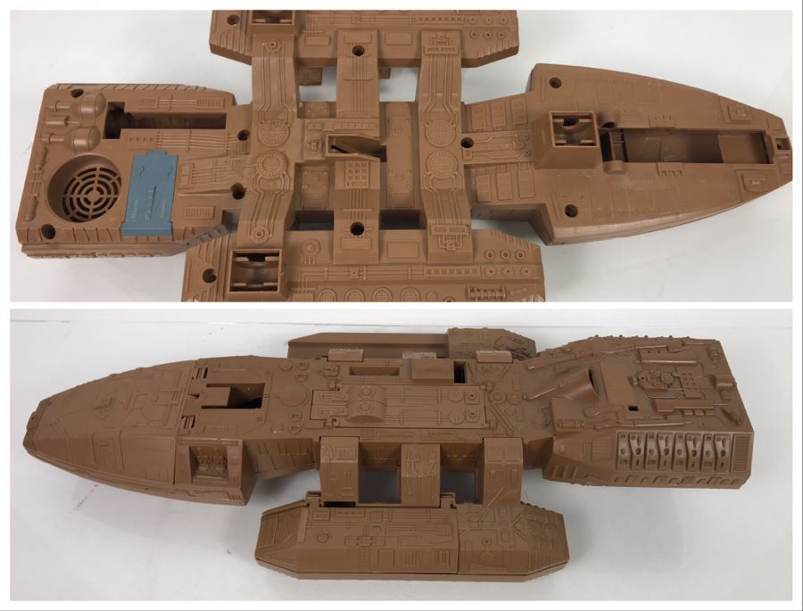 Very Rare PROTOTYPE Mattel Battlestar Galactica BSG Command Ship Prototype Never Manufactured By Mattel - Deemed Too Expensive To Make - Provenance From Former Mattel Employee - 22'L X 10'W X 4'H [Photo 1]