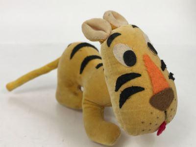 Vintage 1964 Walt Disney Productions Plush Tiger Toy