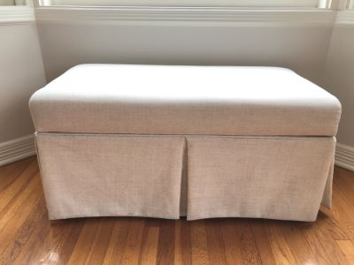 Upholstered Bench With Storage 36 X 18 X 18