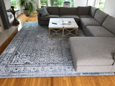 Jaipur Pol01 Polaris Collection Synthetic Area Rug 8'10 X 12' Retails For $675