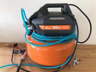 Ridgid 6 Gal 150 Psi Air Compressor Model OF60150HA