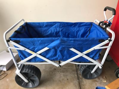 Collapsible Beach Wagon Cart