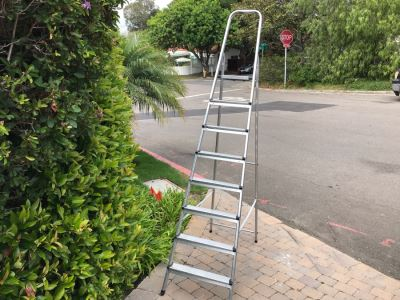 Leifheit Aluminum Ladder