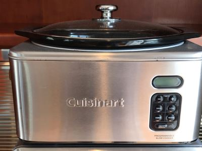 Cuisinart Programmable Slow Cooker Model PSC-650