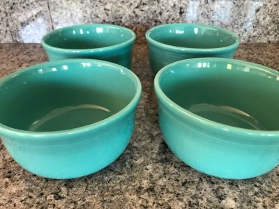 Just Added - (4) Fiesta Ware Bowls