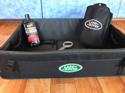 Just Added - Land Rover Car Luggage Box, Land Rover Tire Detailer & Wheel Cleaner Kit, Maguiar's Ultimate Compound And Eye Bolt