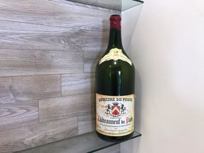 Large Faux Wine Bottle 25'H