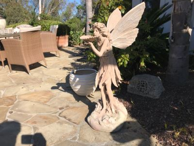 Resin Garden Fairy Statuary 39'H