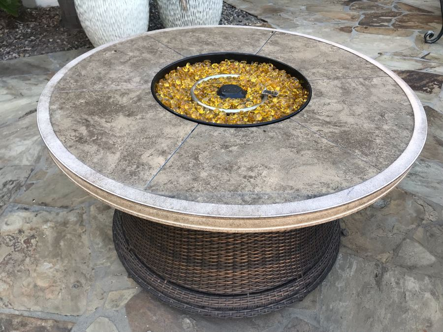 Outdoor Fire Pit Table 44'W X 24'H