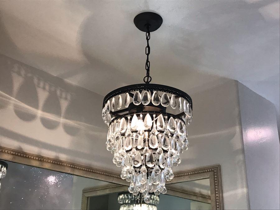 Hanging Crystal Light Fixure
