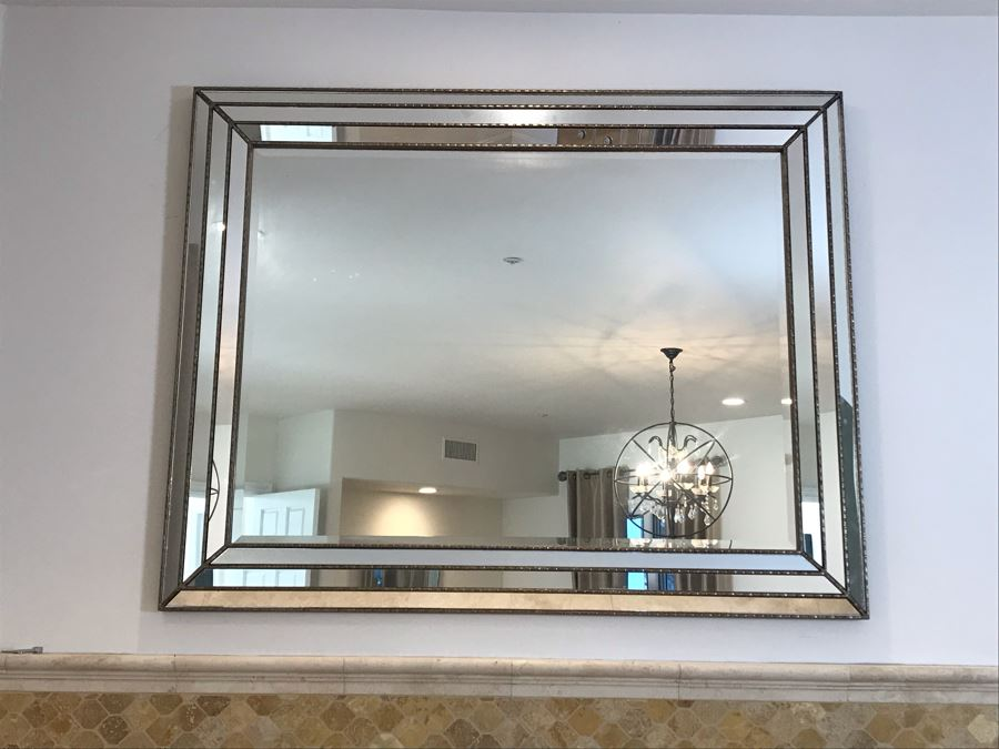 Large Contemporary Wall Mirror 59' X 46' [Photo 1]