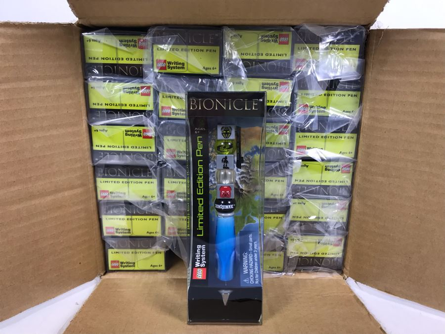 New LEGO Bionicle Limited Edition Pens - 24 Pens [Photo 1]