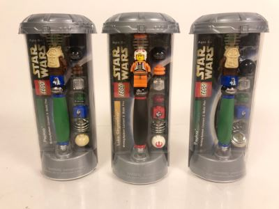 LEGO Star Wars Collectible Pens - 3 Pens