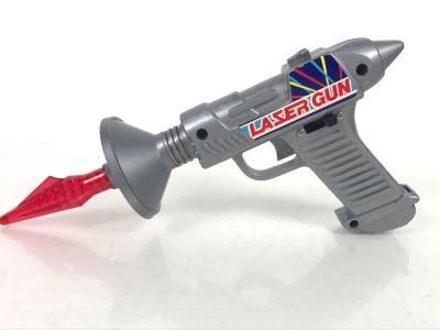 Vintage Hong Kong Laser Toy Gun Battery Powered