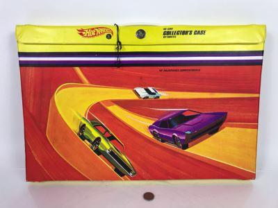 Vintage 1968 Mattel Hot Wheels 48 Car Collector's Case