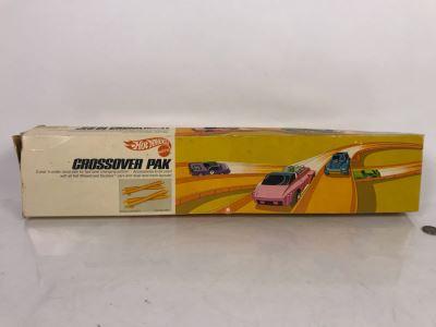 Vintage 1971 Mattel Hot Wheels Crossover Pak In Opened Box