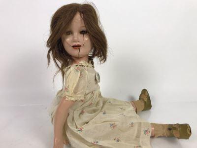 Creepy Halloween Judy Garland Doll