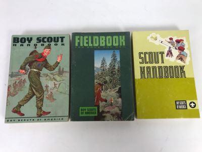 Vintage 1950s 1960s 1970s Boy Scout Handbooks And Fieldbook