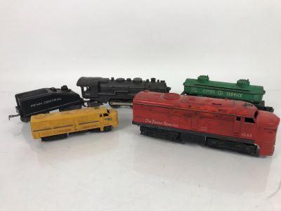 Vintage Trains Lionel And Marx Trains