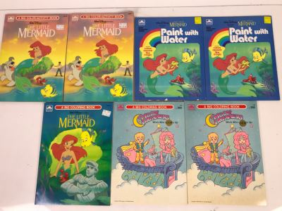 New Old Stock Vintage Coloring Books