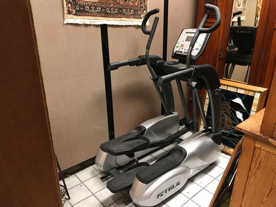 True Fitness ES700 Elliptical Workout Machine Like New - Retails $4,299 [Photo 1]