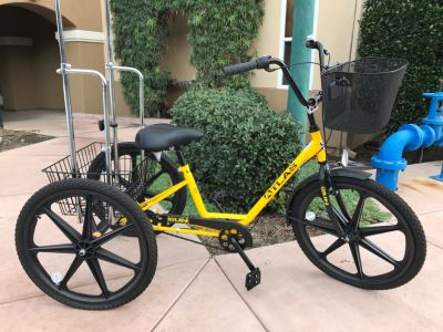 JUST ADDED - Atlas Cargo Trike Tricycle By Sun Bicycles Rarely Used Retails $570