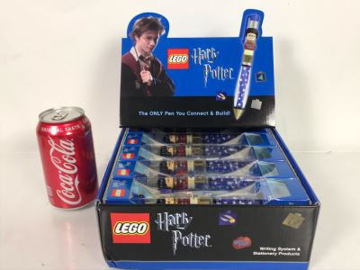 LEGO Harry Potter Collectible Pens With Store Display Merchandiser - 12 Pens Total