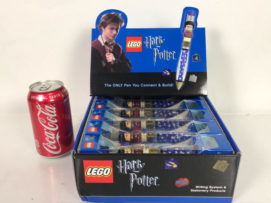 LEGO Harry Potter Collectible Pens With Store Display Merchandiser - 12 Pens Total [Photo 1]
