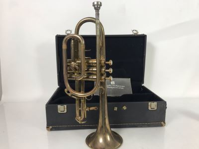 King Trumpet Model No 603 With Case