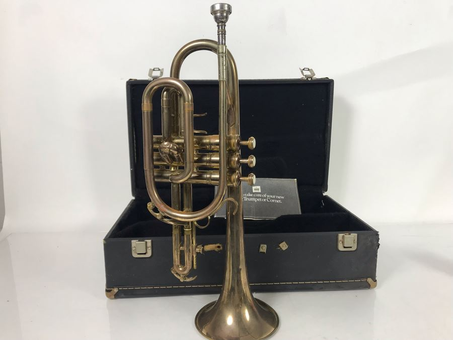 King Trumpet Model No 603 With Case [Photo 1]